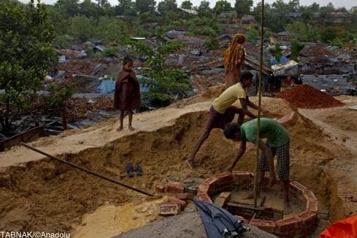 وضعیت تأسف بار مسلمانان فراری از میانمار
