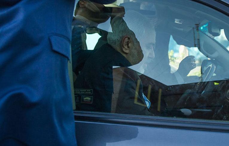 درگیری لفظی راننده خطا کار با گشت نا محسوس