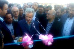 با حضور معاون رئیس جمهوری:طرح آبرسانی قلعه گنج به بهره برداری رسید