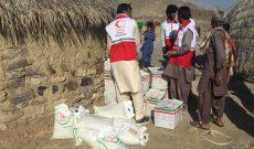 کاروان سلامت جمعیت هلال احمر شهرستان نیکشهر  برای خدمت رسانی به  اهالی منطقه سفید کوه بنت  اعزام شد