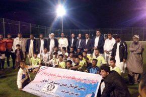 فینال مسابقات مینی فوتبال روستایی منطقه ۳ جنوب استان برگزار شد