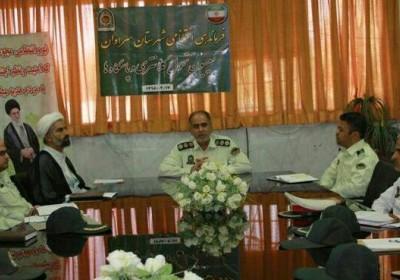 فرمانده انتظامی شهرستان سراوان : برقراری احساس امنیت اجتماعی  در جامعه هدف مهم ماموریت های پلیس است.