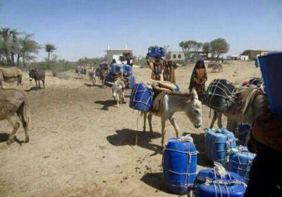 عطش مردم در دشتیاری جنوب بلوچستان بیداد می کند