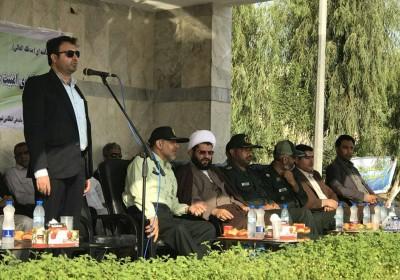 فرماندار قشم: نیروی انتظامی حافظ اقتدار همراه با رافت اسلامی در جامعه است