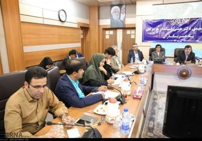 نشست خبری استاندار هرمزگان با خبرنگاران