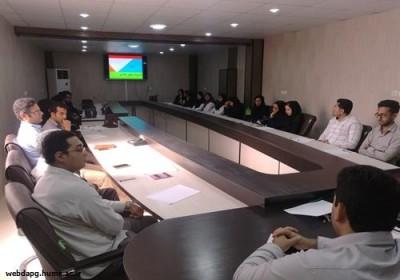برگزاری کارگاه آموزشی مدیریت خطر بلایا در شبکه بهداشت و درمان شهرستان رودان