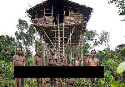 تنها قبیله آدمخوار باقی مانده در دنیا +عکس