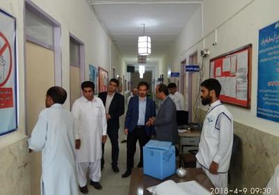 در سفر به نقاط کمتر توسعه یافته شهرستان های تابعه دانشکده علوم پزشکی ایرانشهر : معاونت درمان دانشکده به همراه مدیران ارشد و کارشناسان  چالش ها وتوانمندی های حوزه درمان  را بررسی کردند…