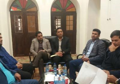 رئیس دانشگاه پیام نور استان هرمزگان با شهردار بندرلنگه دیدار کرد
