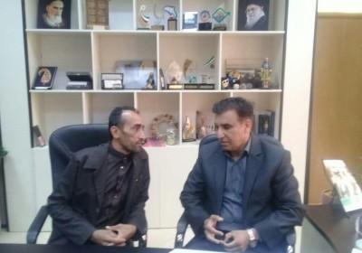 دیدار سردبیر هفته نامه صبح مکران با مدیرکل جدید میراث فرهنگی و گردشگری استان هرمزگان