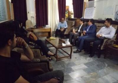 بازدید مدیر عامل مرکز بهداشتی درمانی فرهنگیان بندرعباس از خانه سالمندان و ایتام