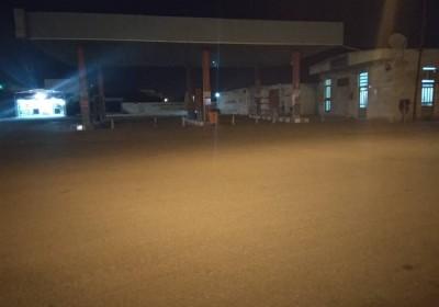 تنها جایگاه مرکزی سوخت شهر جاسک بدون بنزین