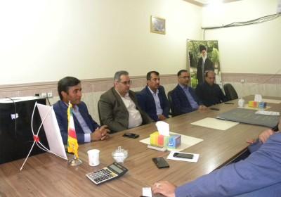 نشست صمیمی نماینده ۵شهرستان جنوبی و هیات همراه با شهردار و شورای شهر نودژ