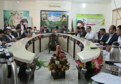 جلسه شورای اداری قصرقند برگزار شد