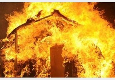 آتش سوزی مرکز ترک اعتیاد آبشورک  بندرعباس