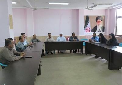 نشست خیرین شهر لمزان با رئیس دانشگاه پیام نور مرکز بندرلنگه