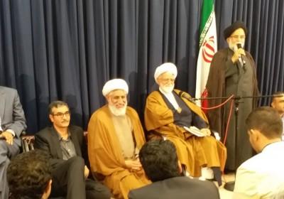 گزارش تصویری دیدار اساتید دانشگاه با آیت الله نعیم آبادی