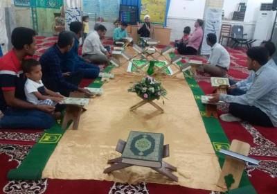 برگزاری جلسات جزء خوانی و تدبر در آیات قرآنی در شهرستان سیریک