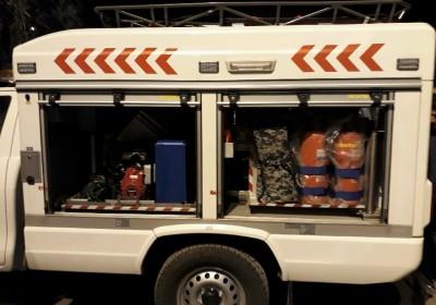 تجهیزجادههای دلگان به خودروی پیشرفته امداد