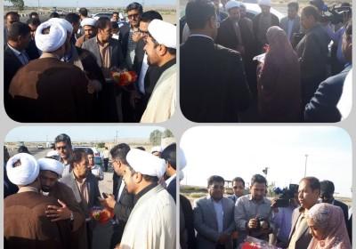 نماینده ولی فقیه استان کرمان مهمان مردم شریف فاریاب و رودبار جنوب است