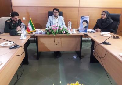 کمیته تخصصی زنان شهرستان قشم  با موضوع هم اندیشی برگزاری کنگره ملی شهدای هرمزگان تشکیل گردید
