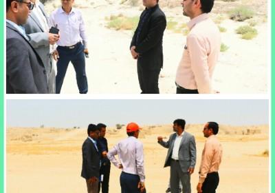برای مقابله با هجوم ملخها:فرماندار خمیر از سایت آرابی دیدن کرد
