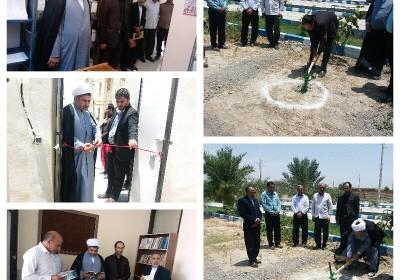 افتتاح ورونمایی چند طرح درشهرستان فاریاب