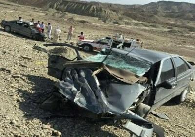 تصادف در منوجان ۶ کشته و زخمی برجا گذاشت