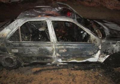 واژگونی خودروی سواری در جیرفت مرگ دلخراش راننده را در میان شعله های آتش رقم زد.