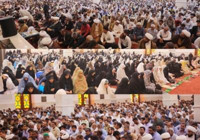 برگزاری باشکوه نمازجمعه بندرعباس توسط امام جمعه جدید وحضور پررنگ مردم