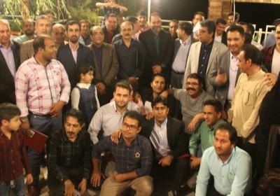 نشست هم اندیشی اعضا مطبوعات جنوب کرمان در دلفارد+تصویر
