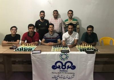 پالایشگاه نفت ستاره خلیج فارس قهرمان شطرنج لیگ هزاره شهرستان میناب.