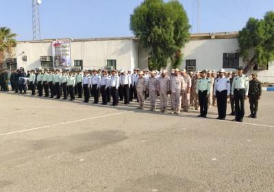 برگزاری صبحگاه مشترک نیروهای مسلح در کهنوج