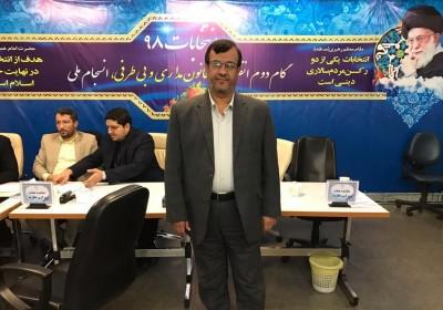 احمدجباری ظهر امروز از محل وزارت کشور برای مجلس نامنویسی کرد