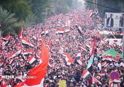 بازتاب تظاهرات میلیونی مردم عراق در رسانه های جهان
