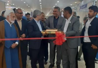 همزمان با دهه فجر: ششمین نمایشگاه مطبوعات وهفدهمین نمایشگاه سراسری کتاب استان هرمزگان آغاز به کار کرد