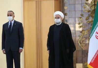 در نشست خبری مشترک با الکاظمی:روحانی: روابط اقتصادی ایران و عراق باید به ۲۰ میلیارد دلار برسد
