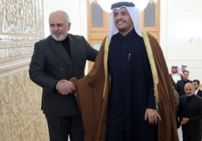 وزیرخارجه قطر وارد تهران شد