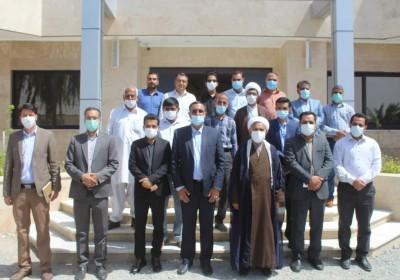 دیدار نوروزی نماینده با کارکنان فرمانداری شهرستان قلعه گنج