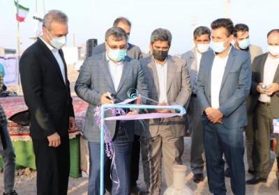 ۱۱پروژه آبرسانی با حضور استاندار هرمزگان افتتاح وبهره برداری قرار گرفت.