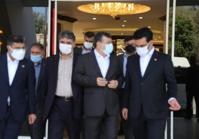 افتتاح طرح های پستی درکیش با حضور وزیر ارتباطات