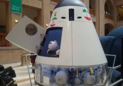 رونمایی اولین فضاپیمای سرنشین دار ایرانی