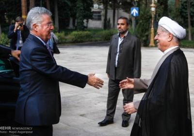 دیدار رئیسجمهور اتریش با هاشمی