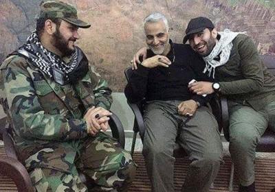 سردار سلیمانی در کنار دشمن شماره یک آمریکا+تصاویر