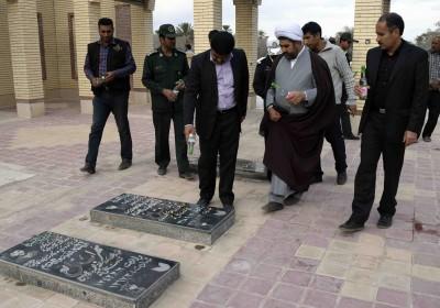 دومین یادواره ی ۸۱ شهید شهرستان فاریاب برگزار شد+تصویر