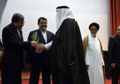 تجلیل از برگزیدگان ششمین جشنواره بین المللی فرهنگی هنری خلیج فارس+تصویر