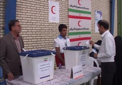 برگزاری چهارمین دوره انتخابات مجمع جمعیت هلال احمر شهرستان میناب